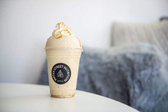 MLive's Best Local Eats: Try a Pumpkin Caramel Cheesecake Shake from Water Street Nutrition