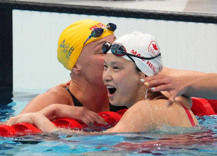 Swimming World October 2021 - Canadian Surge - Maggie McNeil
