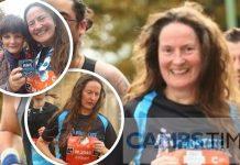 Fenland artist completes Cambridge half marathon for charity