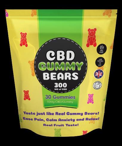 """CBD Gummies Bears UK - """"HOAX BENEFITS"""" [Stop Smoking] Real"""