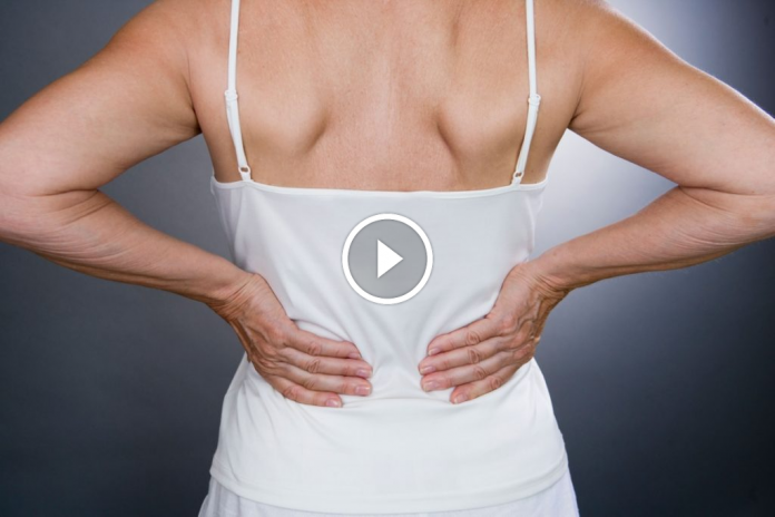 Lower back pain can indicate a persistent condition.