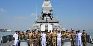 British India Tri-Service Exercise Konkan Shakti