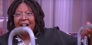 """Whoopi Goldberg on what happened to her sciatica and using a walker in """"The View"""""""