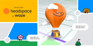 """Waze introduces a new """"Drive with Headspace"""" experience to make commuting less stressful - TechCrunch"""